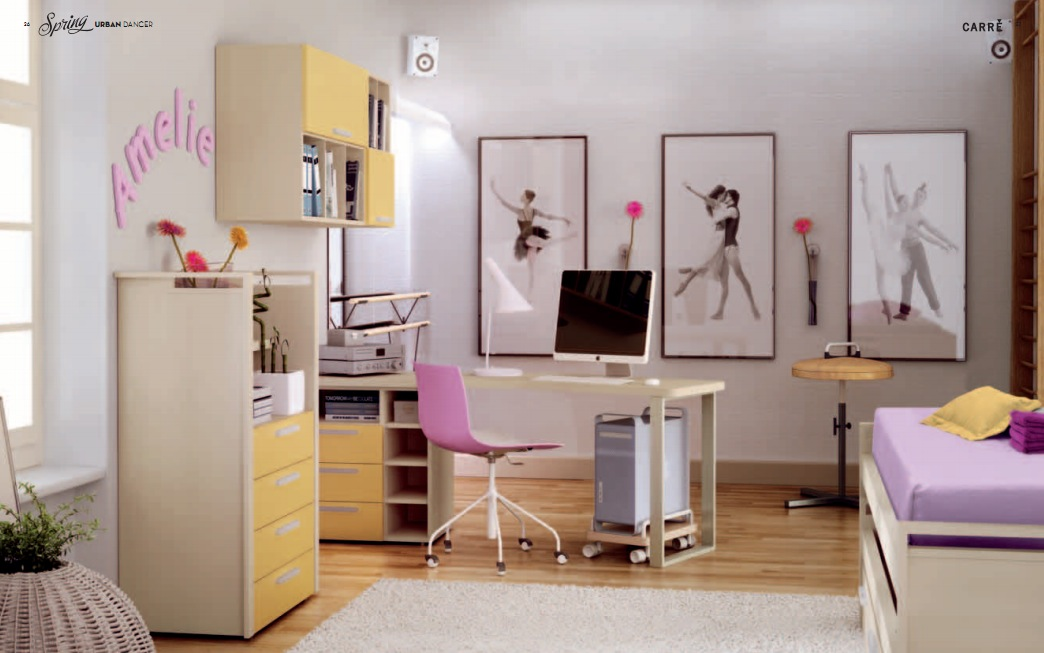Kids room pixels decor kids room for Girl themed bedroom ideas
