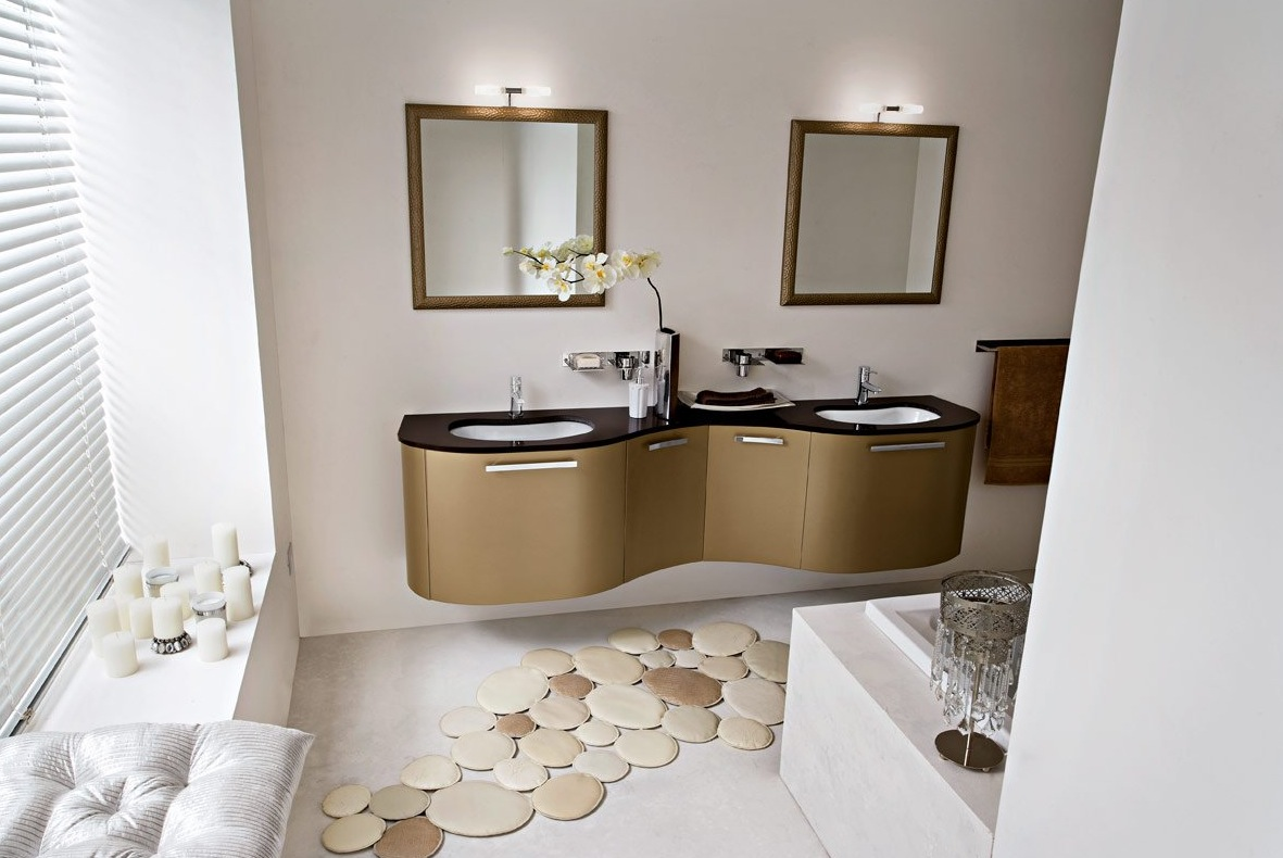 Modern home decor bathroom - Fancy Bathroom Rugs