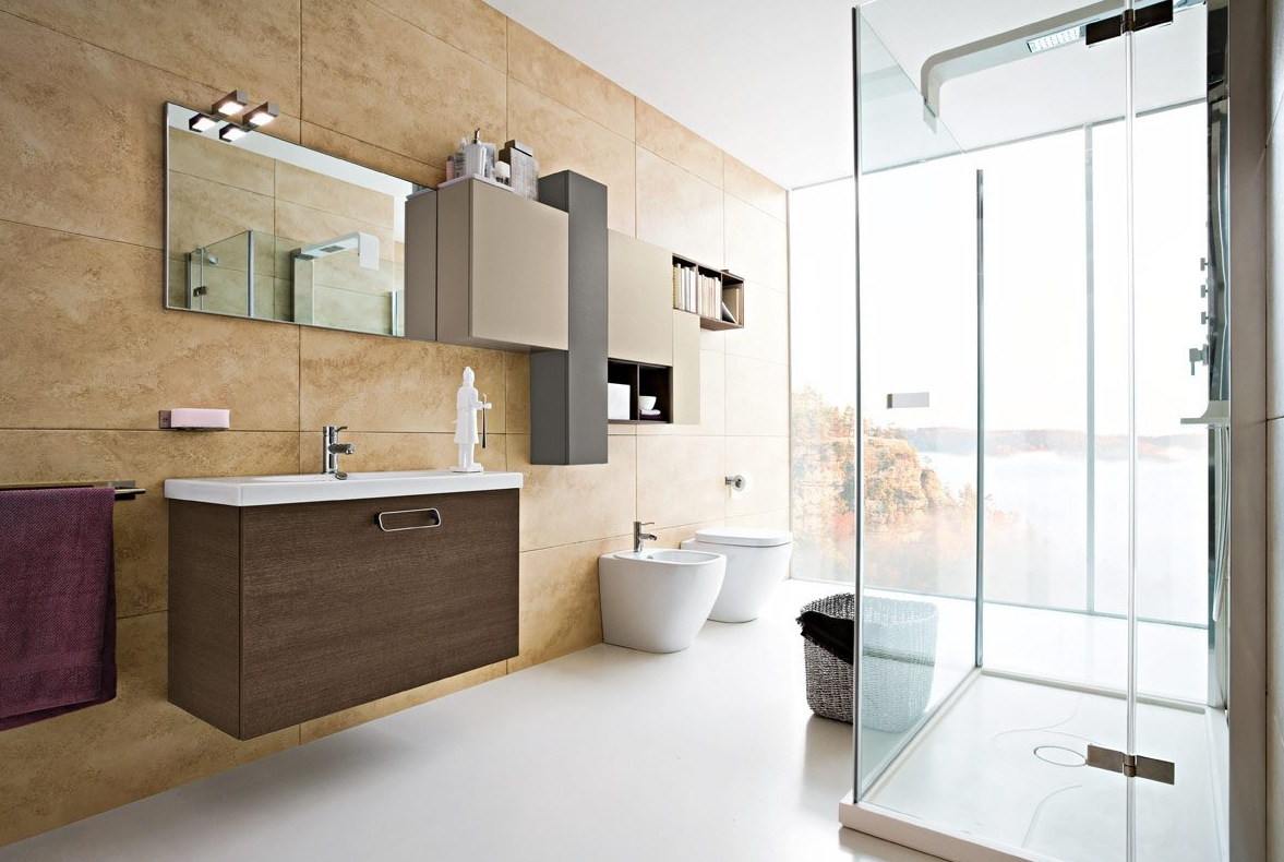50 modern bathrooms for Bathroom modern design