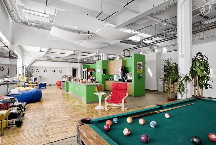 Google Pittsburgh Office Penthouse Of A 100 Year Old Biscuit Factory