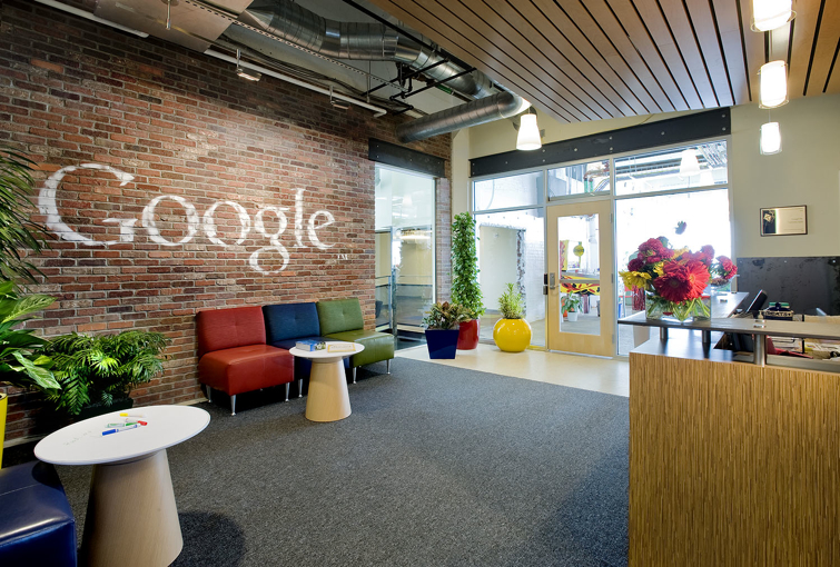 Google Pittsburgh Office: Penthouse of a 100 year old Biscuit Factory