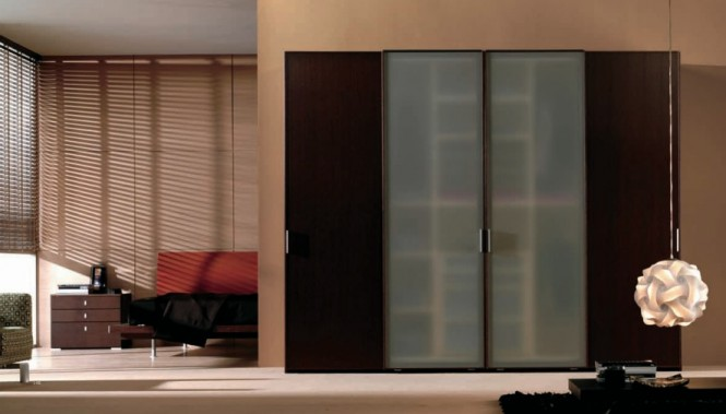 Delightful Modern Sliding Door Wardrobe
