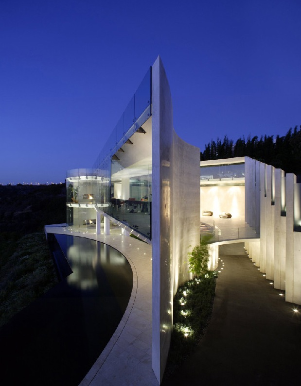 House with insane sea view for Spectacular home designs