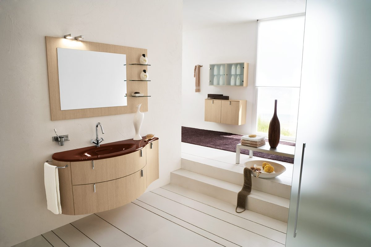 50 modern bathrooms for Toilet interior ideas