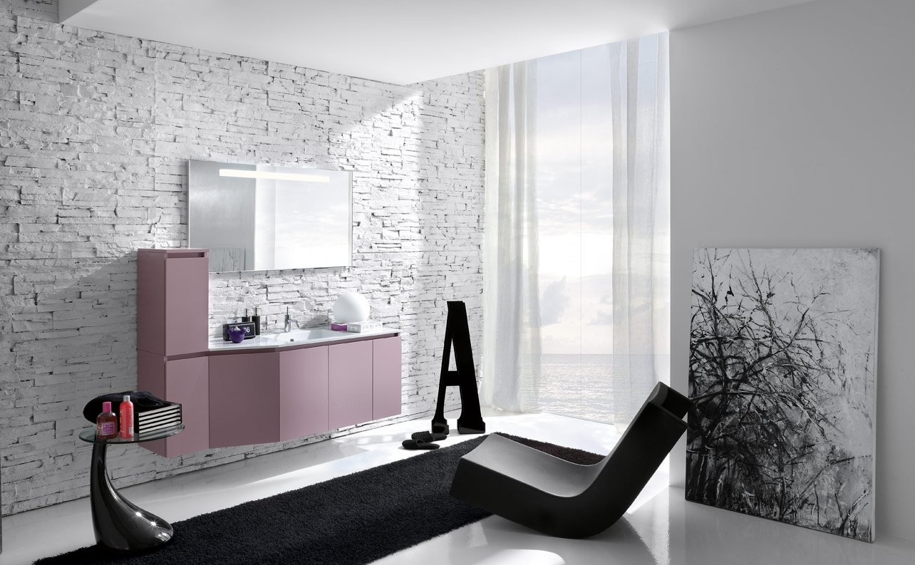 50 modern bathrooms for Salle de bain design noir et blanc
