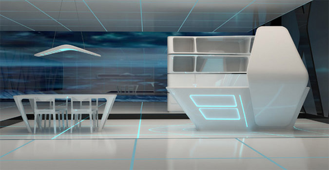 like architecture interior design follow us - Futuristic Kitchen