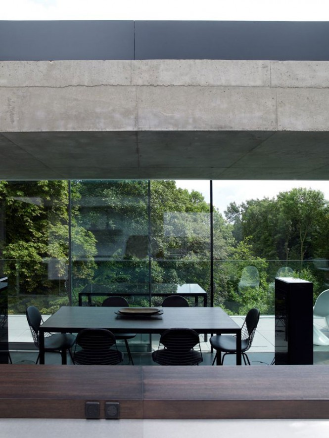 glass wall balcony