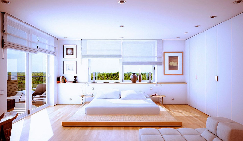 Beautiful Modern House Rendered by Marc Canut