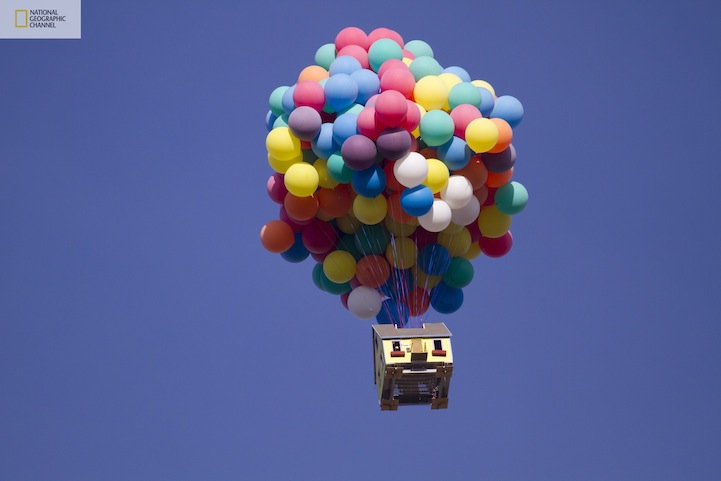 Unbelievable: Pixar's Up Movie House Recreated in Real Life