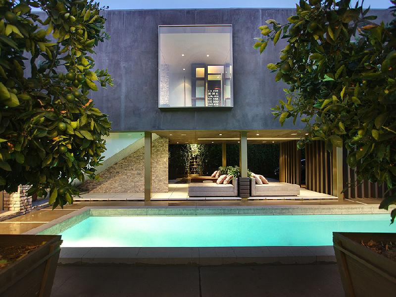 Luxury Home Pool Designs : pool luxury house  Interior Design Ideas