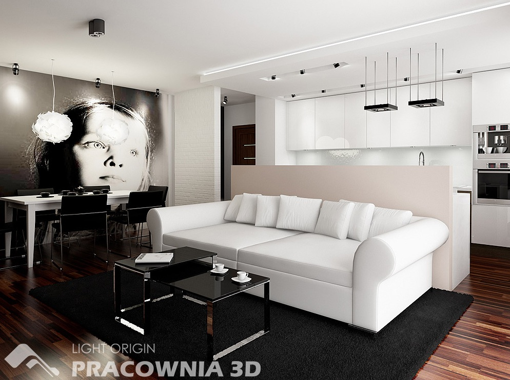 Living room design small apartment