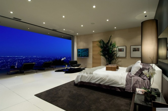 spectacular bedroom view
