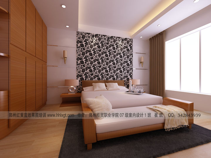 Modern bedroom designs for Bedroom feature wall ideas