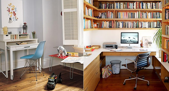 Workspace inspiration for Home office workspace