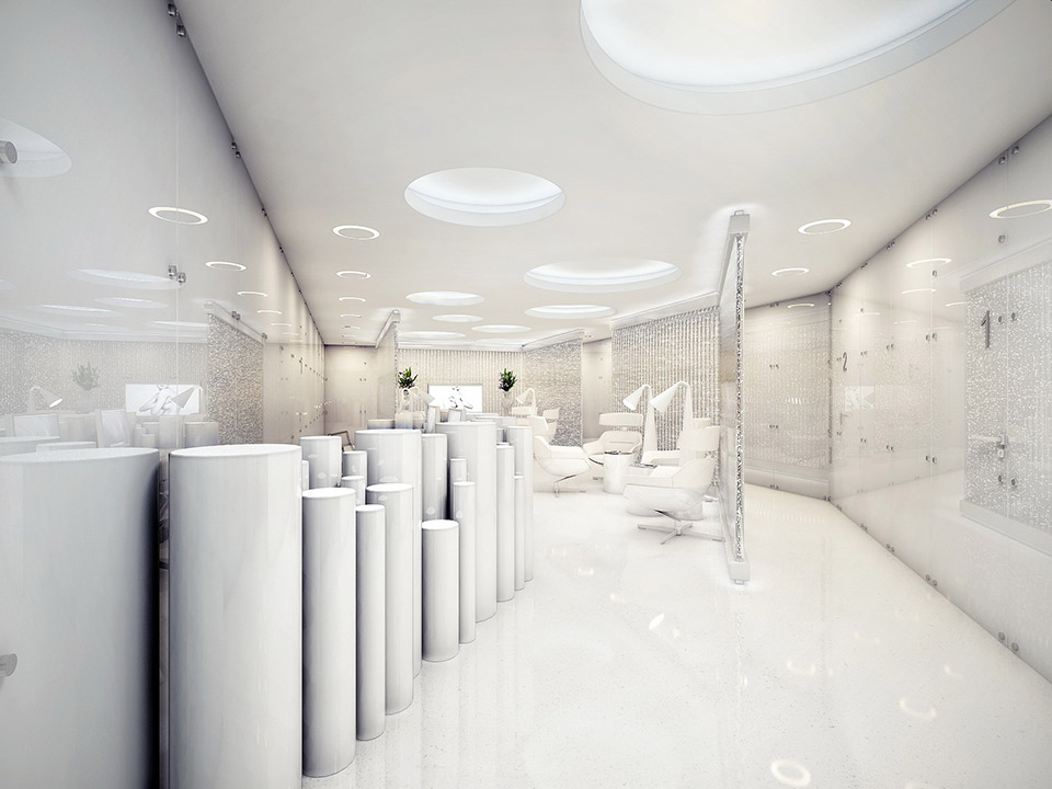 The world 39 s most stylish surgery clinic visualized for Building interior designs