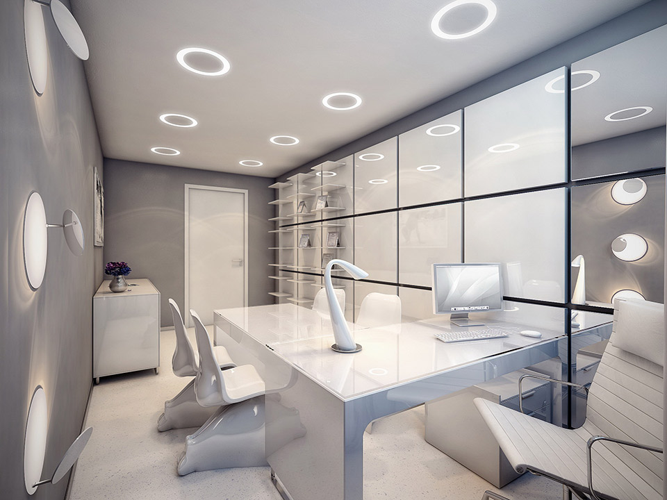 The world 39 s most stylish surgery clinic visualized for Interior design office inspiration