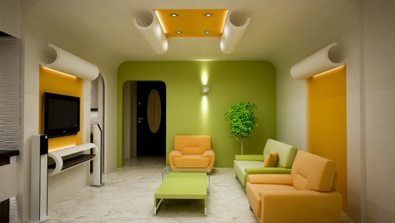 Colorfully Inspirational Living Rooms