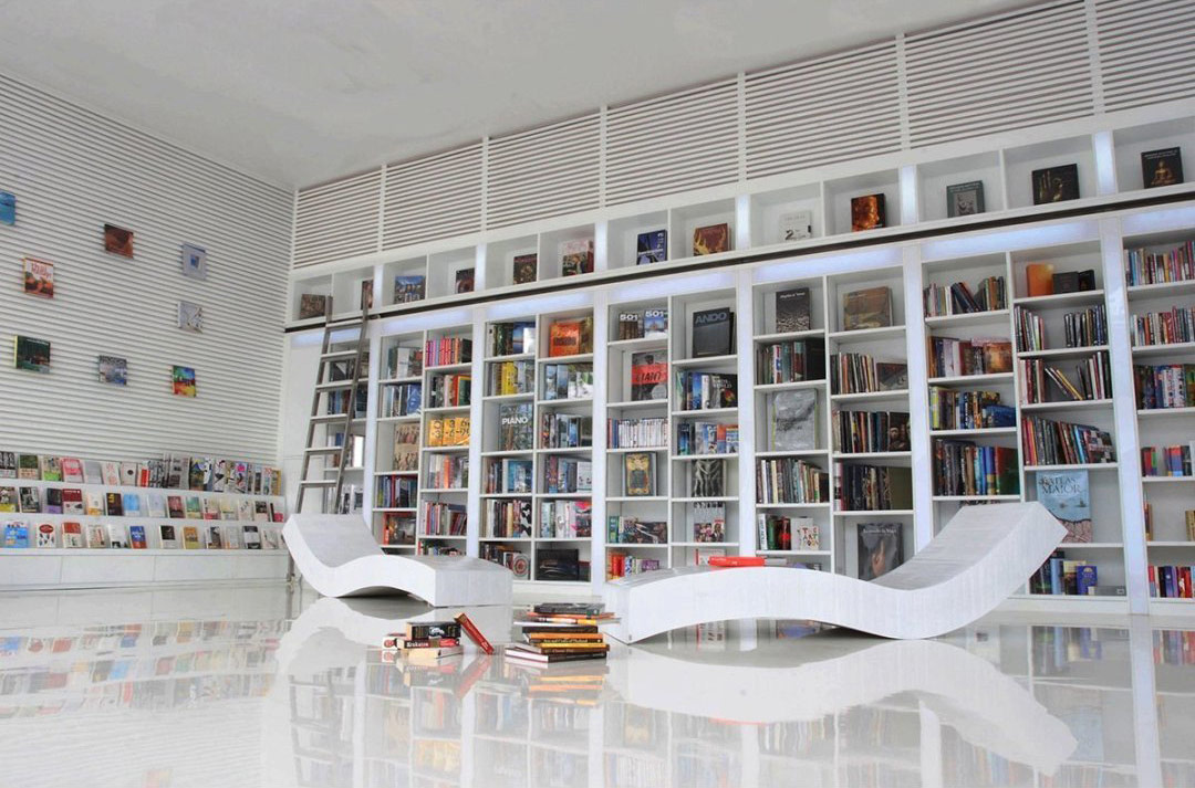 large wall bookshelfinterior design ideas - Large Wall Design Ideas