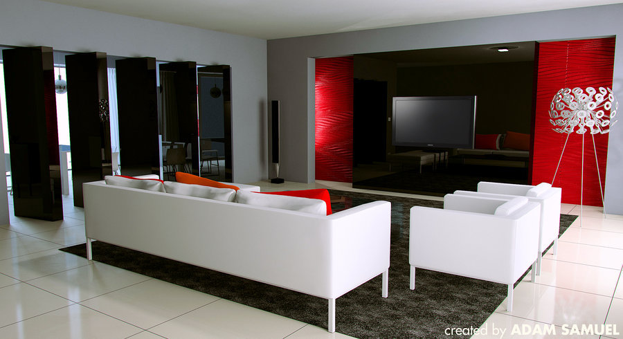 lounge_by_johnny_west d3deutt | Interior Design Ideas.