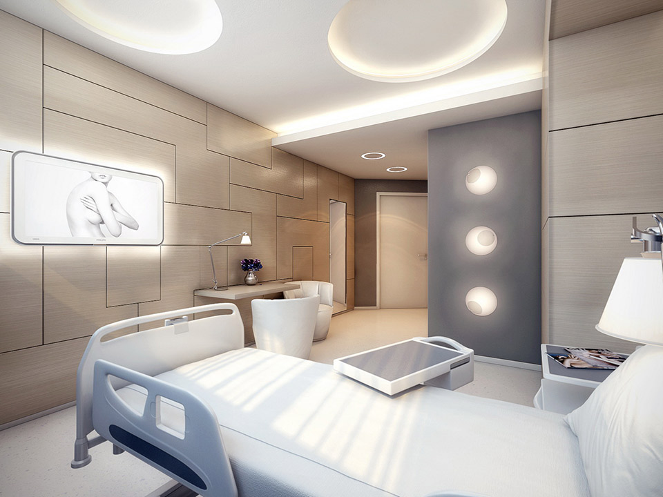 The Worlds Most Stylish Surgery Clinic Visualized