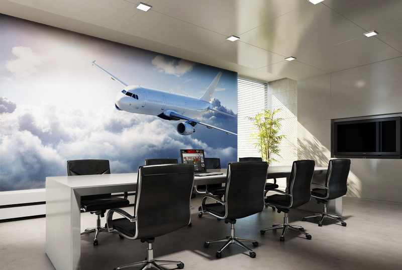 Office Wall Background Design : Photo wallpapers for every room