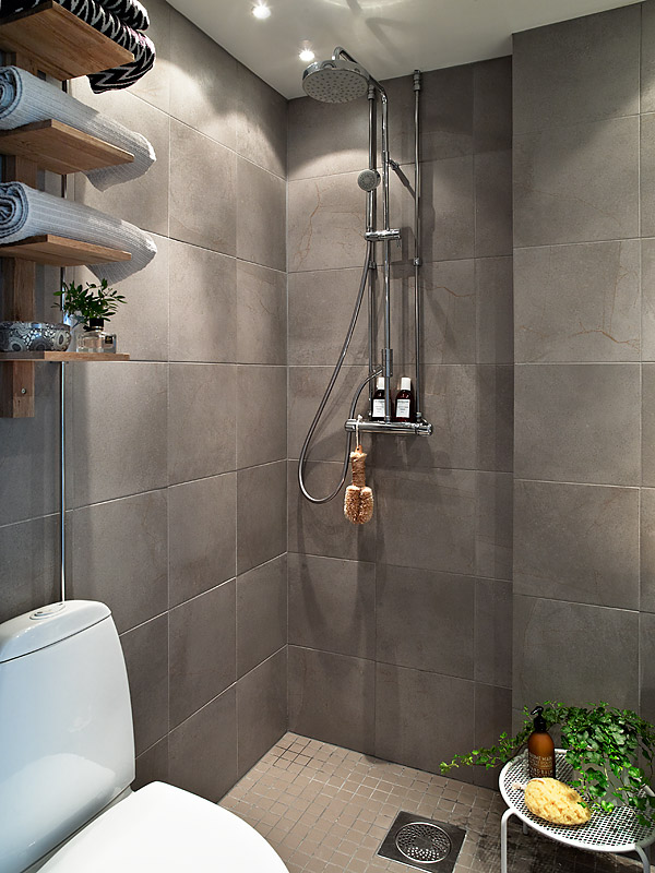 Open shower interior design ideas for Open shower bathroom