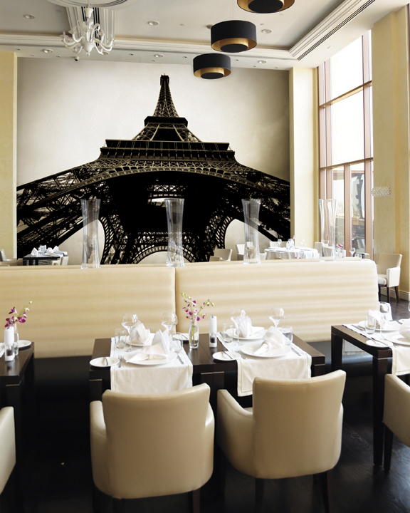 Photo wallpapers for every room for Mural restaurant