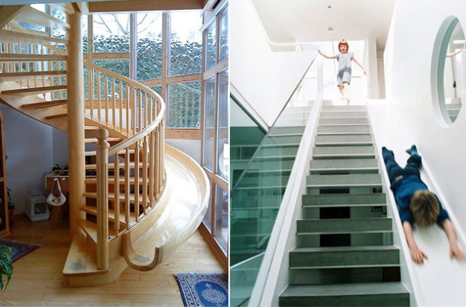 slide staircases spiral stair