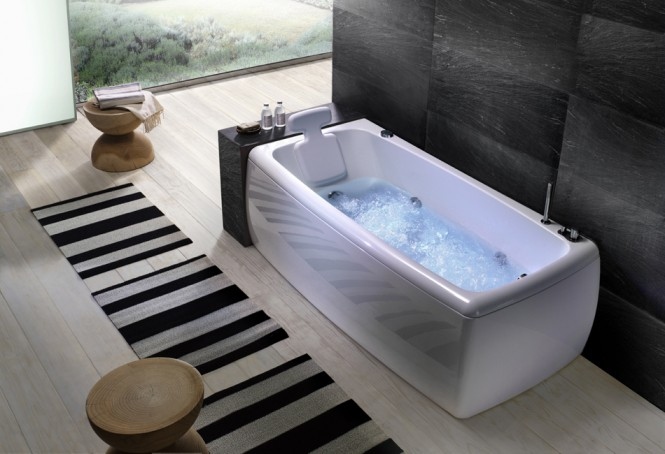 soft angles bathtub