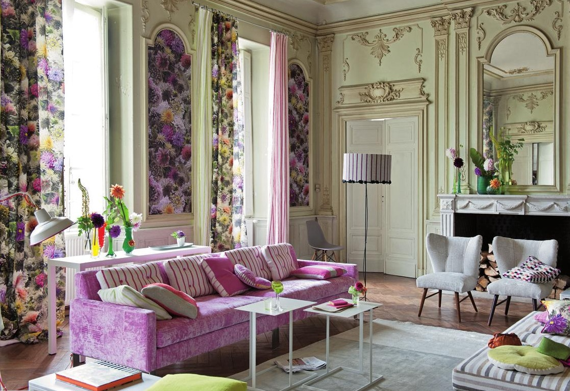 Spring Decorating Inspiration With French Country Living Room Ideas Photo