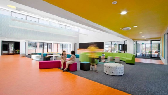Schools with a splash of color