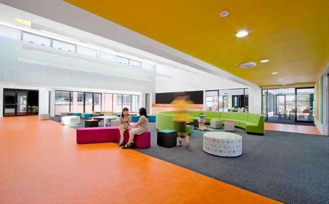 Schools with a splash of color - What do you learn in interior design school ...