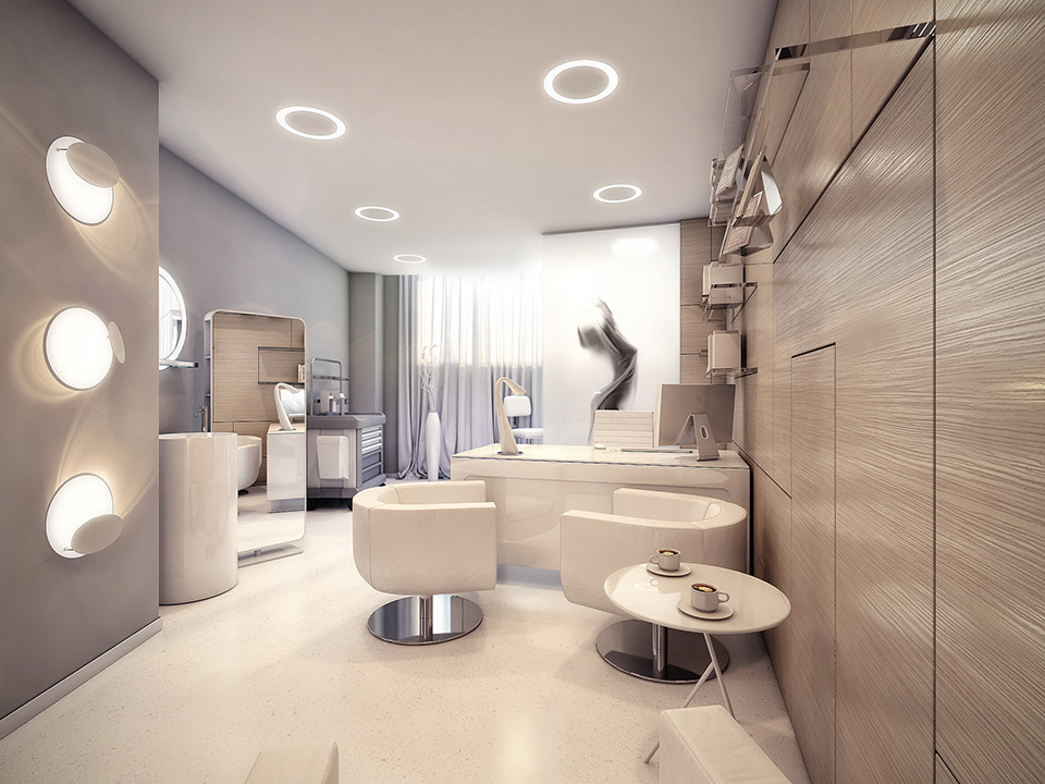 The world 39 s most stylish surgery clinic visualized for Best design consultancies