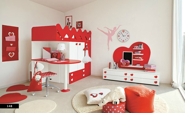ballerina themed girls bedroom