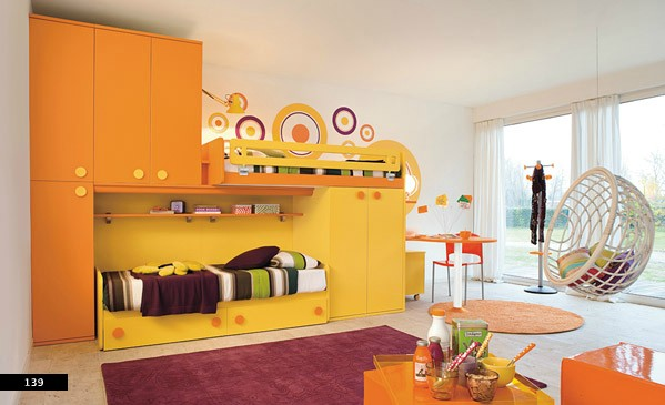 bedrooms for kids showing artist stlyes