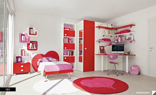 colors transforms luminous girls bedroom