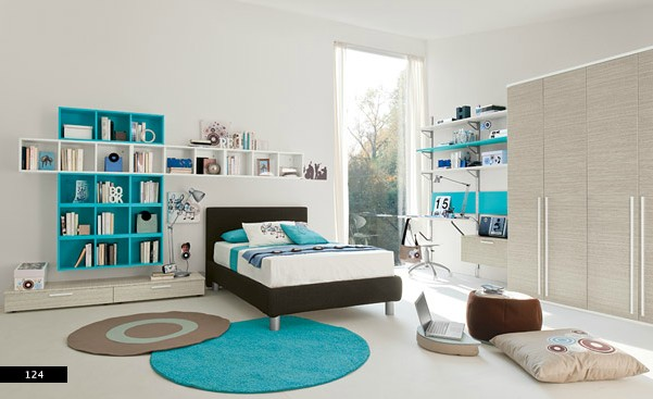 elegant efficient kids bedroom space design