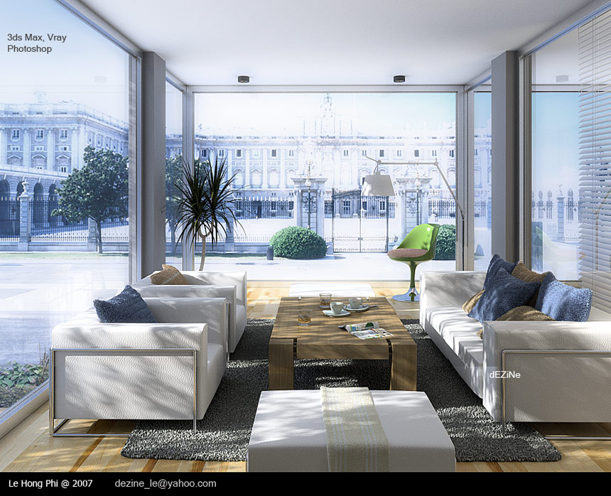 Living rooms show range of modernist to traditional