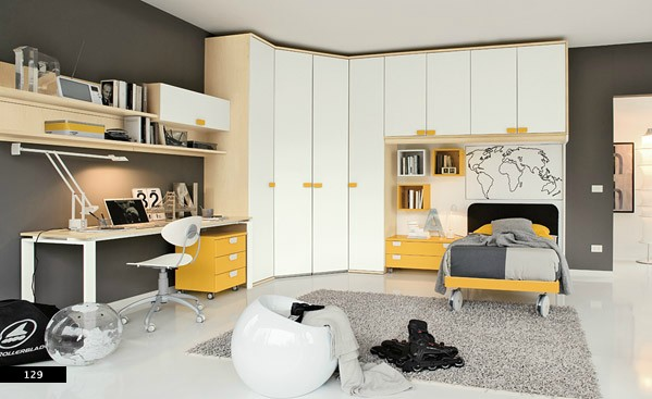 modular furniture in kids bedroom