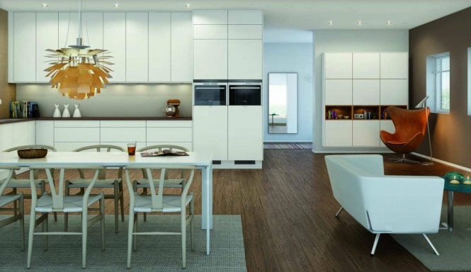 never enough Norwegian kitchen cabinetry