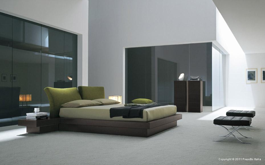 contemporary bedrooms from presotto