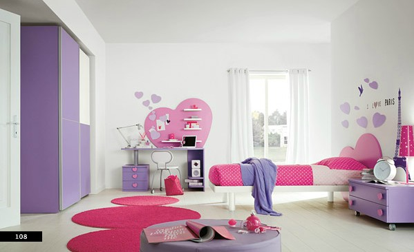 Texture and color yields fancy girls bedroom interior for Fancy girl bedroom ideas