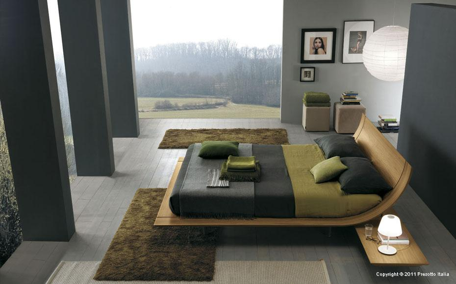 contemporary bedrooms from presotto - Contemporary Bed Rooms