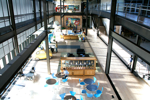Foyer Layout Jobs : Pixar s office interiors