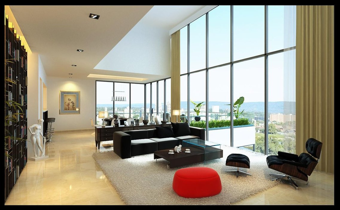 modern small living room design ideas.  Modern Living Rooms