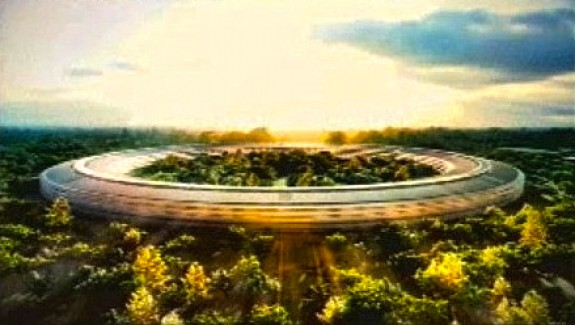 Apple's Spaceship Inspired Future Cupertino Offices