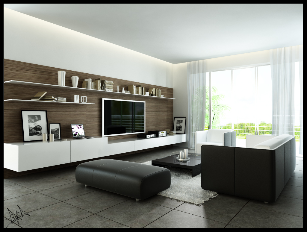Modern living room design ideas - Modern Living Room Design Ideas 2