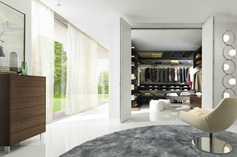 Dream closets by italian designers gruppo euromobil