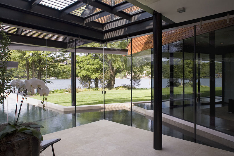A peninsula house on lake austin texas Solarium designs
