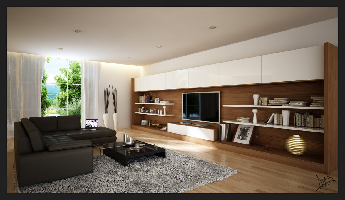 . Modern Living Rooms